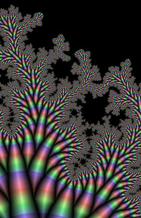 effect: Circus Flea Fractal generated background image