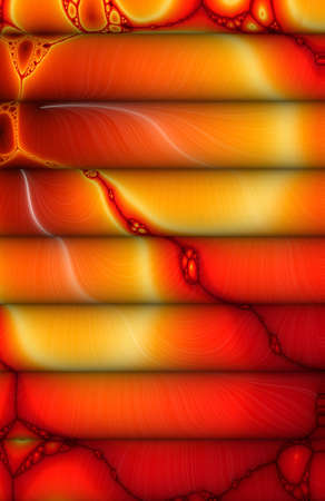 Lava Roll Theory Fractal Background