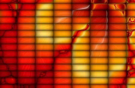 Sock Mosaic Fractal Background