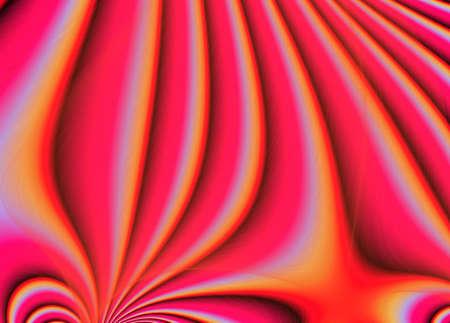 manifold: Digitally generated Red Manifold background