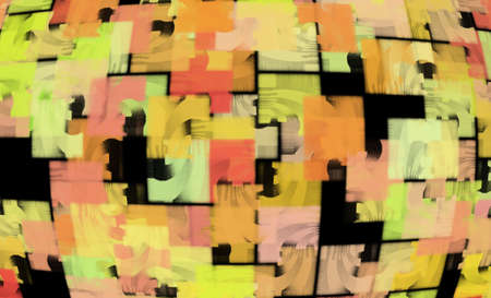 patchwork: Digitally Generated Canvas Patchwork Quilt