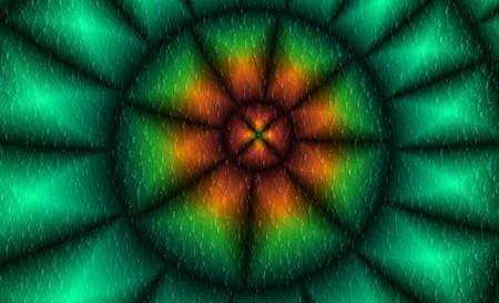 digitally generated image: Snake Eye Digitally Generated Background Image