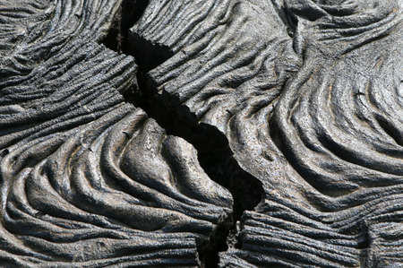 tremor: A crack in the lava fields of the Galapagos Islands