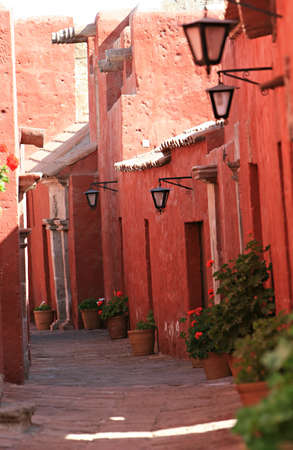 catalina: Inside the ancient Santa Catalina convent in Arequipa, Peru