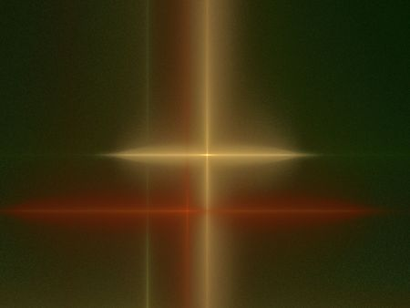 Abstract cross - geometric square composition