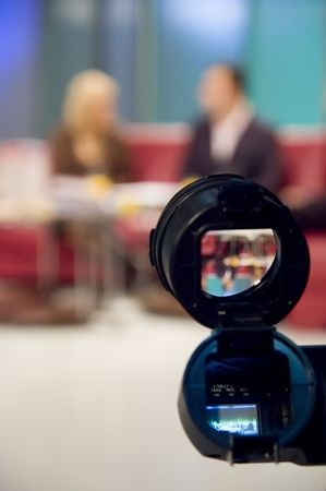 Video camera viewfinder Stock Photo - 2587797