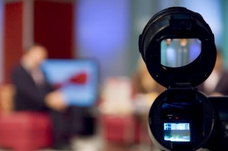 correspondent: Video camera viewfinder