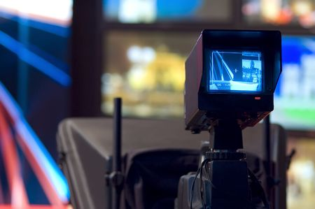 Video camera viewfinder Stock Photo - 2805669