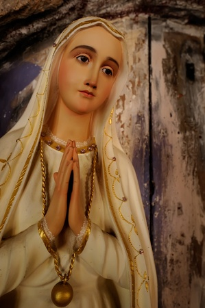 Statue of Blessed Virgin Mary photo