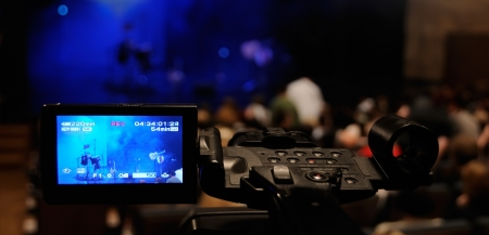 live action: Video camera -  for professional HDTV production