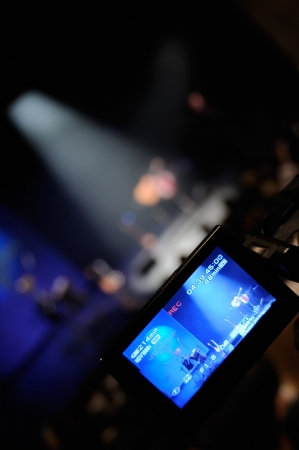 Video camera -  for professional HDTV production photo