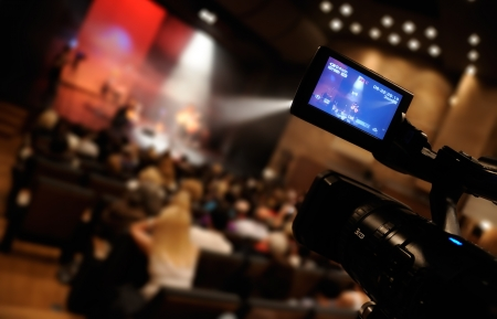 broadcasting: Video camera -  for professional HDTV production