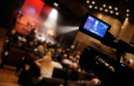conferentie: Video camera - voor professionele HDTV productie