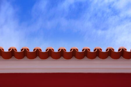 rooftile: Red roof