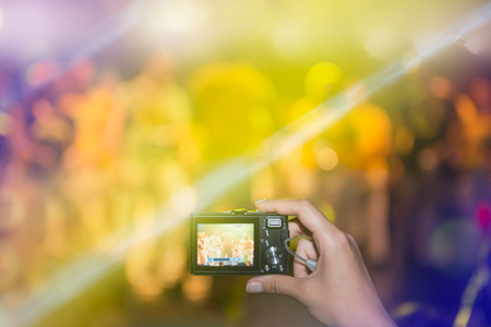 photography themes: Taking picture at a music concert