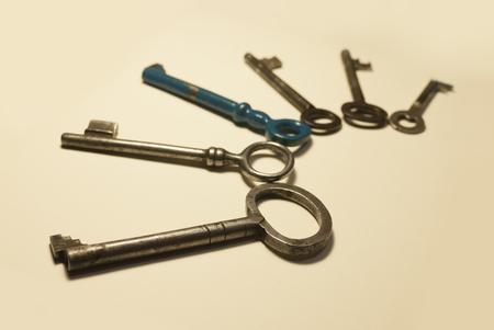 latchkey: Old keys