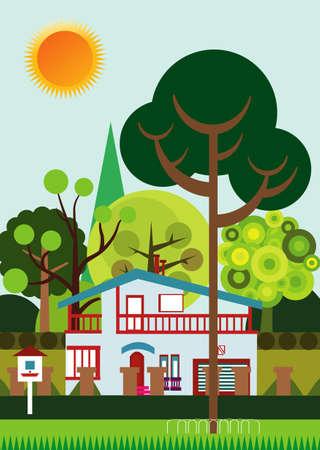 suburbs: Suburbs  Stock Photo