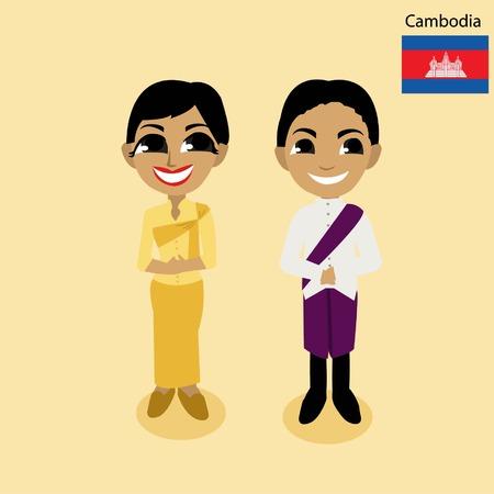 cambodia: cartoon  Cambodia