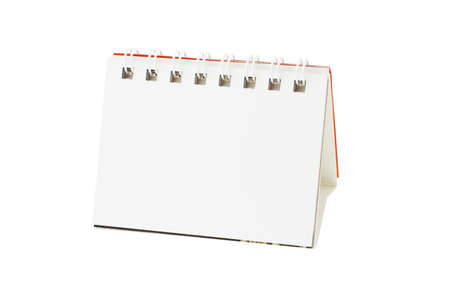 Blank desktop calendar with copy space Stock Photo - 10388298