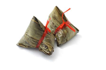 arroz chino: Dumplings para festival de botes drag�n de arroz chino