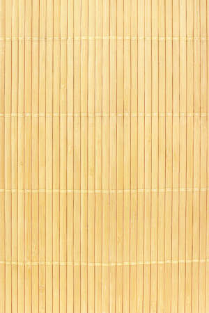 Close up of Chinese bamboo mat background Stock Photo