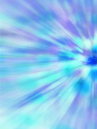 disperse: Artistic abstract blue rays radiating background Stock Photo
