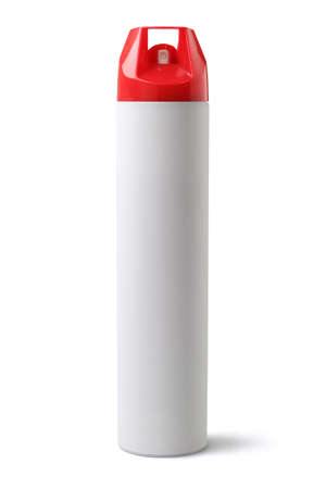 gas cylinder: Insecticide Spray on White Background