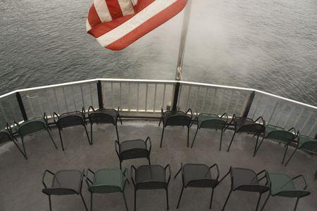 Setting sail on the Mini-Ha-Ha steamship in Lake George, NY.