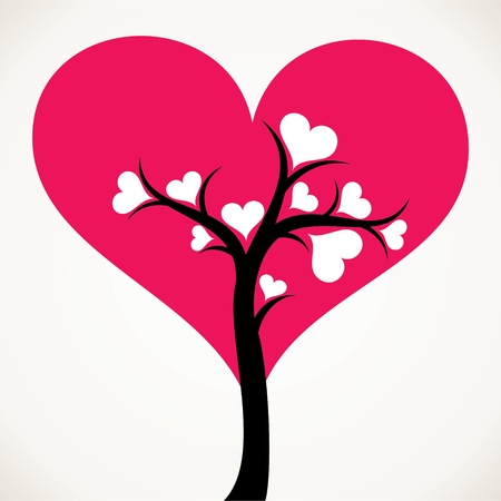 lover tree with small white leaf Stock Photo - 16774456
