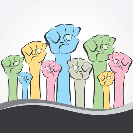 closed society: unity and power show the hand
