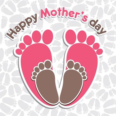 day care: sfondo festa della mamma felice s saluto