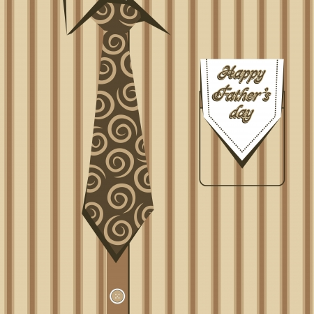 happy fathers day card: happy father,s day stock vector Illustration