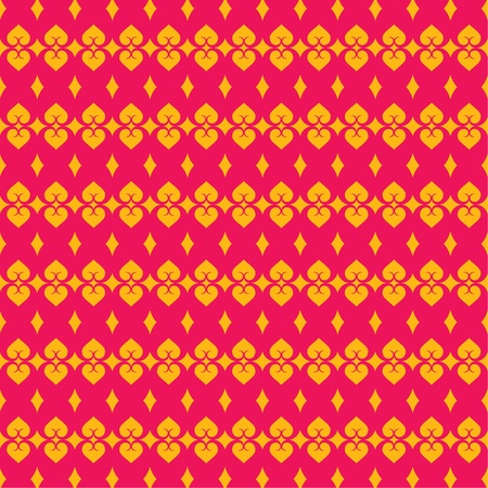 pink and yellow color design pattern Stock Vector - 16845659