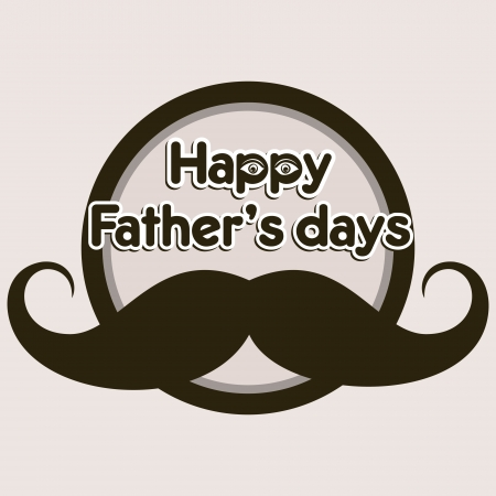 happy father,s day greeting background Stock Vector - 16845547