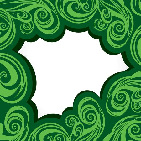 abstract swirl brush stroke background Stock Vector - 16845651