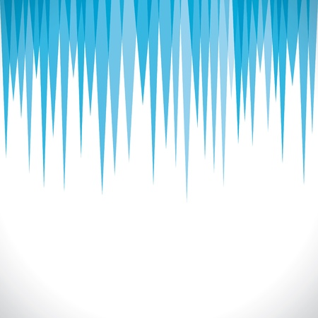 sharp blue strip background Vector