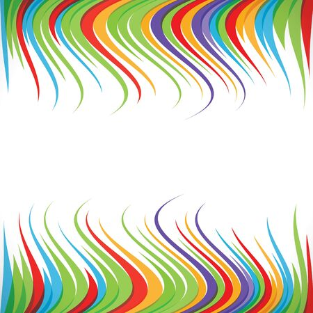 abstract colorful ripple strip background Stock Vector - 16845808