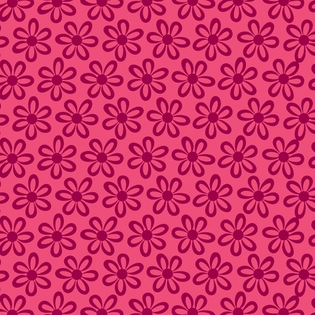small flower pattern pink background Stock Vector - 16904554