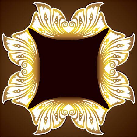 golden design classic background Stock Vector - 16904551
