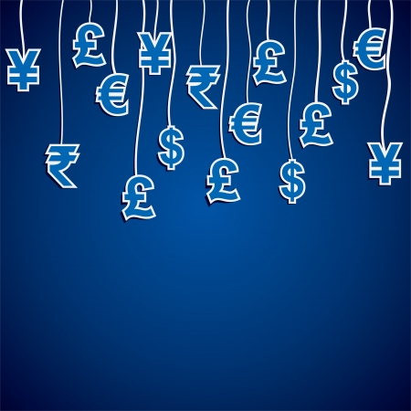 indian currency: currency symbol of different country stock