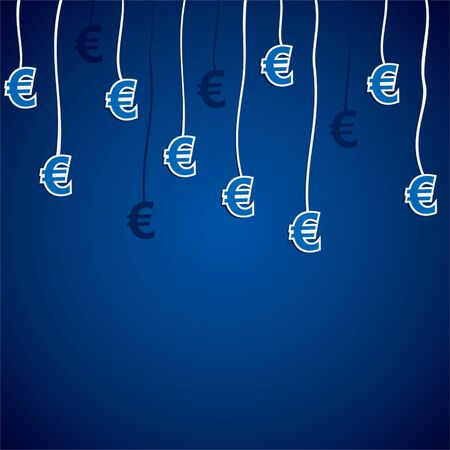 euro currency symbol stock  Stock Vector - 16904557