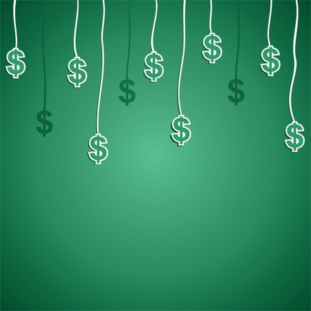 dollar currency symbol stock Stock Vector - 16904558