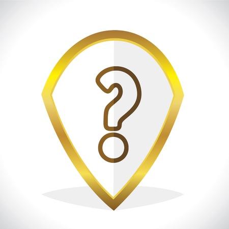 Help Question Mark Icon Design Stock Vector Stock Vector - 17216225