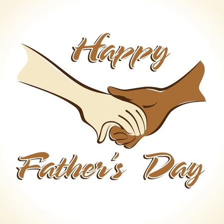 Father s Day Greeting Stock Vector Stock Vector - 17215724