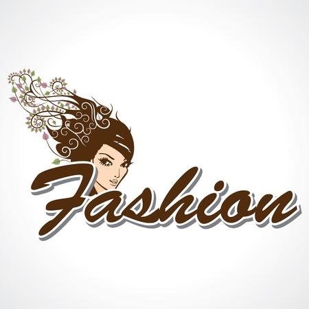 fashion jewelry:  Stylish Fashion Text Stock Vector