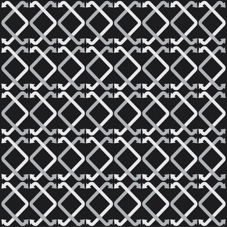 black and white leaf: grey arrow stock pattern background