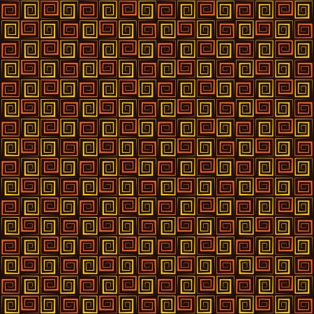 disordered: retro square swirl pattern stock vector