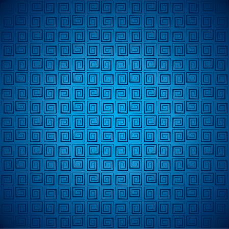 fascia: abstract blue square pattern stock vector Illustration