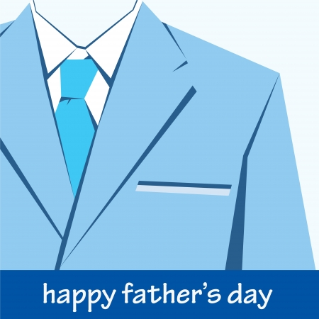 happy fathers day greeting stock Stock Vector - 17125680