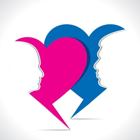 happy valentine day greeting Stock Vector - 17763380